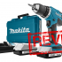 Review Makita DF457DWE Accuboormachine